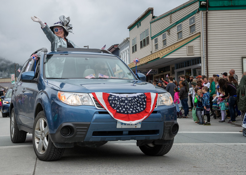 Fourth of July Parade, Petersburg, Alaska