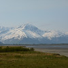 Kenai Mountains, Turnagain Arm mud flats, Alaska