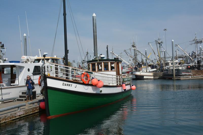 Danny J,  Ferry, Homer, Alaska to Halibut Cove, Alaska
