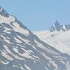 Aerial tour of Grewingk Glacier, Alaska