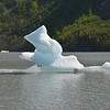 Ice Forms in Grewingk Glacier Lake, Alaska