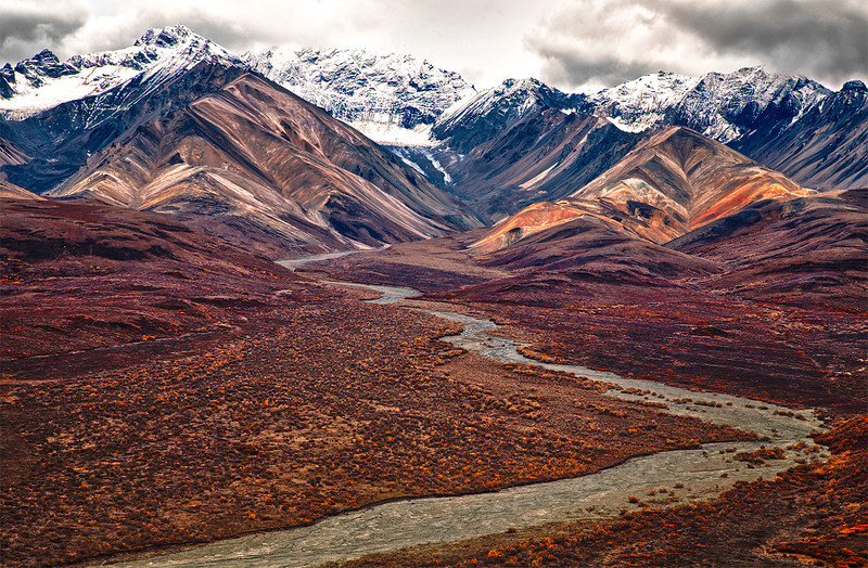 Polychrome Point, Denali National Park, Alaska