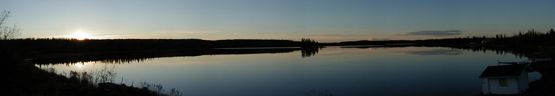 Tolsona Lake, about 17 miles west of Glennallen.