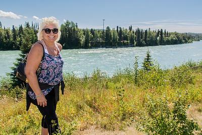 Annie at the Kenai River