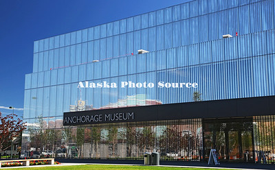 Alaska. Newly remodeled and expanded Anchorage Museum of History and Art.
