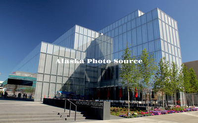 Alaska. Newly remodeled and expanded Anchorage Museum.