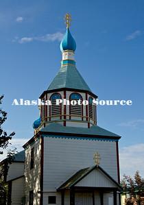 Alaska. Holy Assumption of the Virgin Mary Russian Orthodox Church, Kenai.