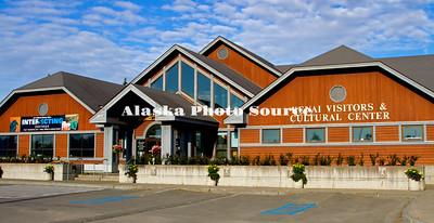 Alaska. Kenai Vistors and Cultural Center, Kenai.