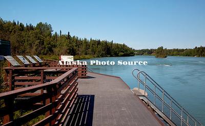 Alaska. Kenai River Classic Fishwalk, Soldotna.