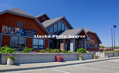 Alaska. Kenai Visitors and Cultural Center, Kenai.