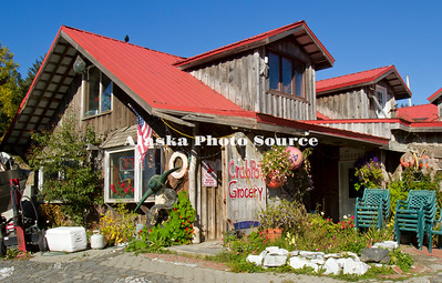 Alaska. Crab Pot Grocery Store, Seldovia.