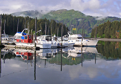 Alaska. Seldovia Small Boat Harbor.