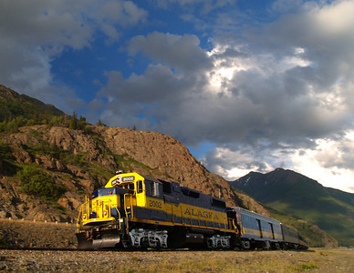 AKRR Along the Turnagain Arm
