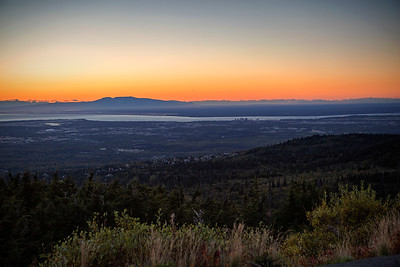 Sunset over Anchorage September 9. 2016