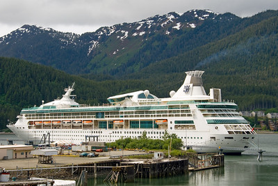 Docked in Juneau, Alaska