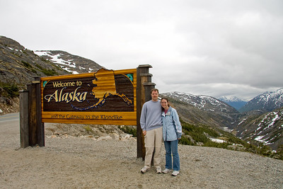 I look like a dork in this picture, but I really don't care.  I'm in Alaska.