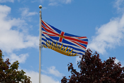 Flag at the city hall
