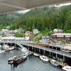 Cruise Pictures in Alaska and from Denali.  Fantastic Trip with my Mom, it was lots of fun!<br /> <br /> view from out our window in Ketchikan