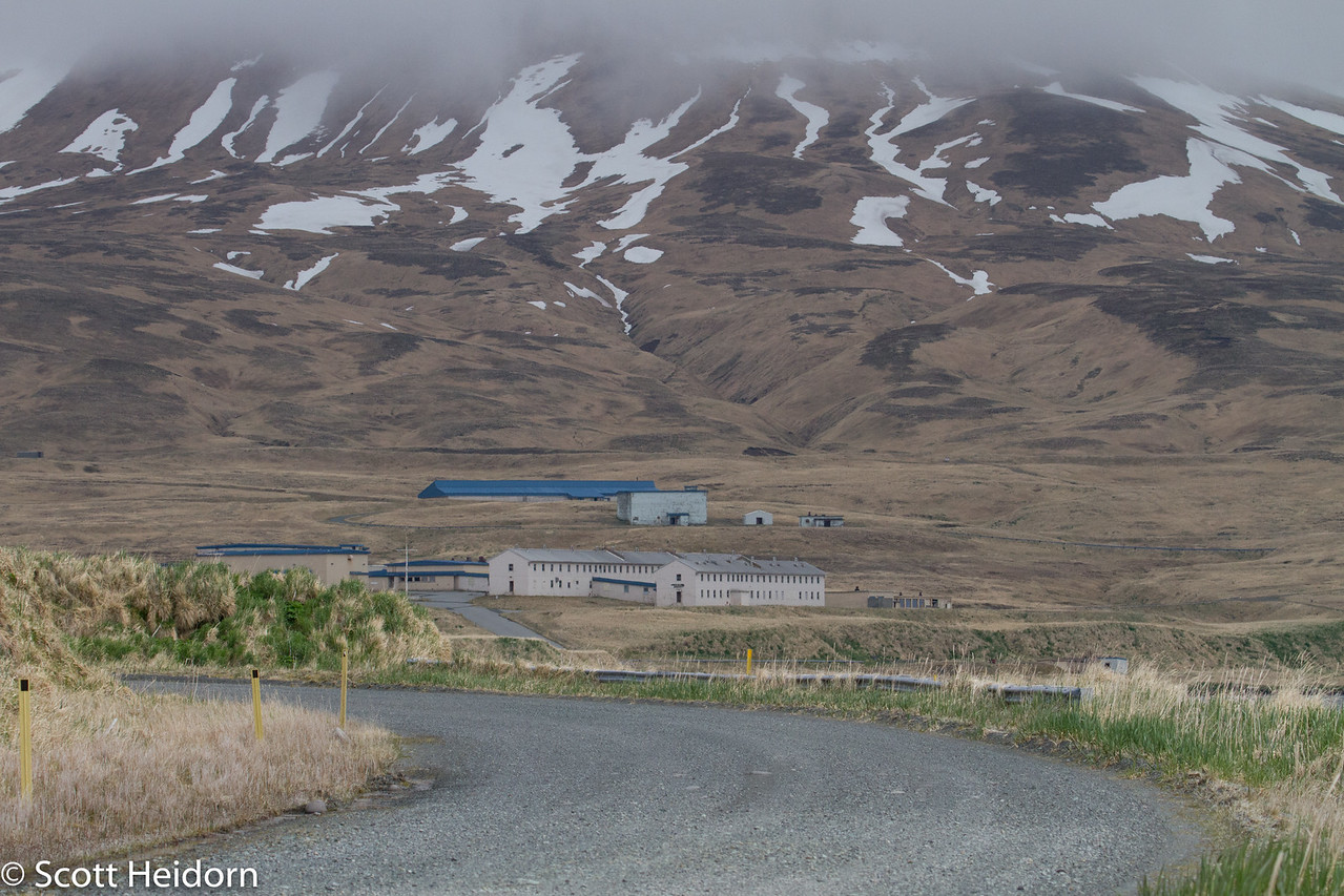 The Blue Building on Clam Lagoon