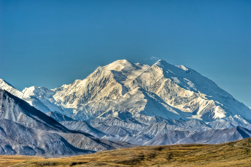 Mt McKinley's summit is 20,320 feet above sea level
