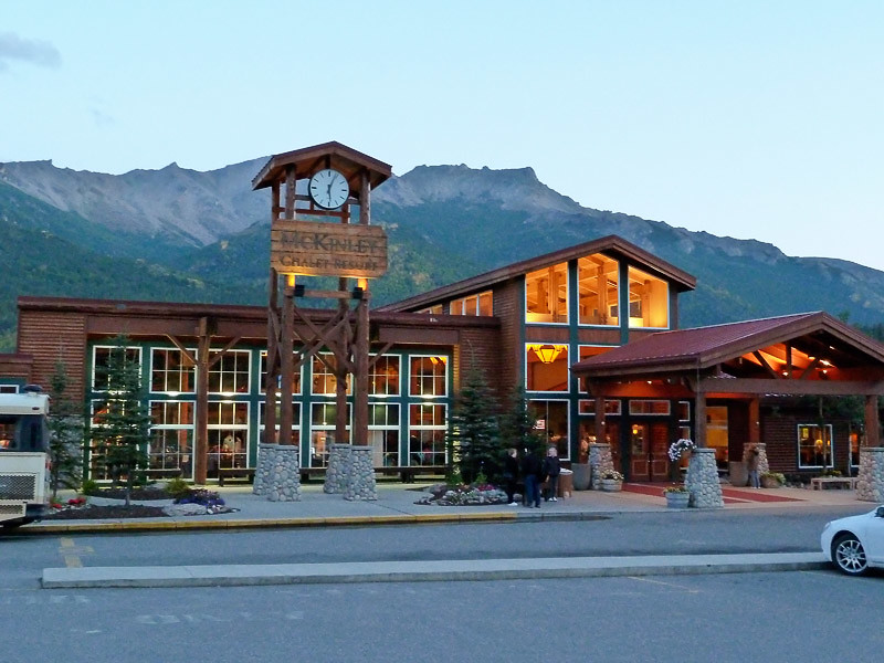 The McKinley Chalet Resort where we stayed at Denali