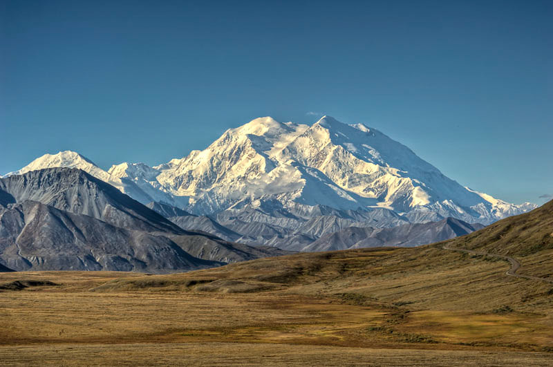 "The locals call it Denali, which means ""The High One"""
