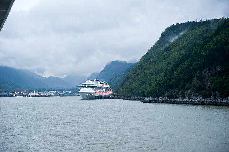 Entering Port at Skagway