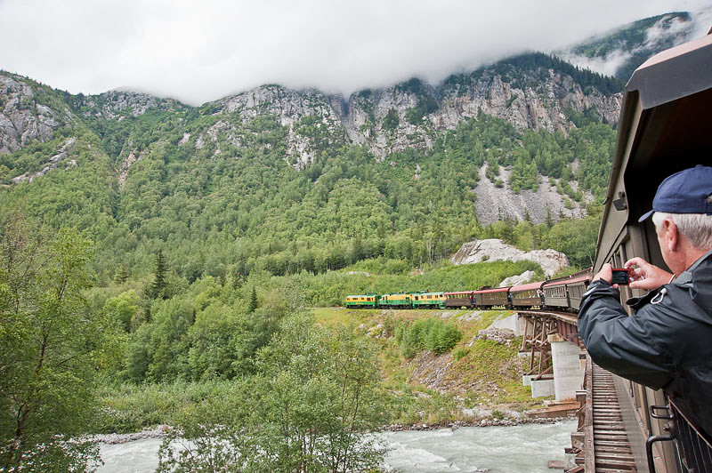 The Railway extended 110 miles to Whitehorse, Yukon Territory