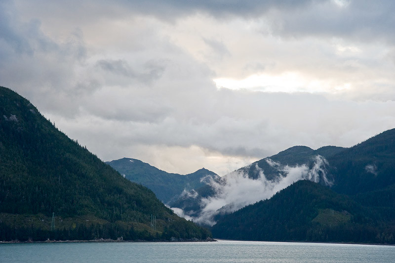 Just a few miles out from Juneau