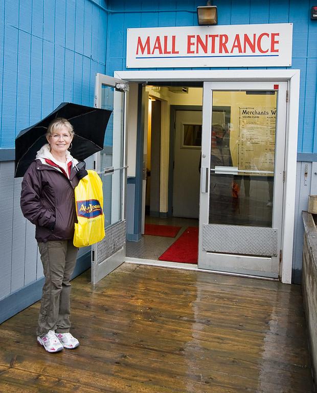 Of course Martha found a Mall !