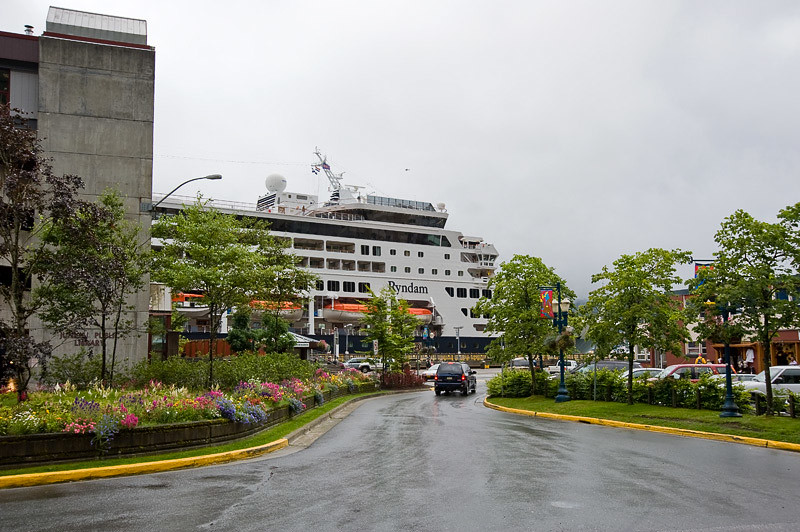 A view of our Ship from town