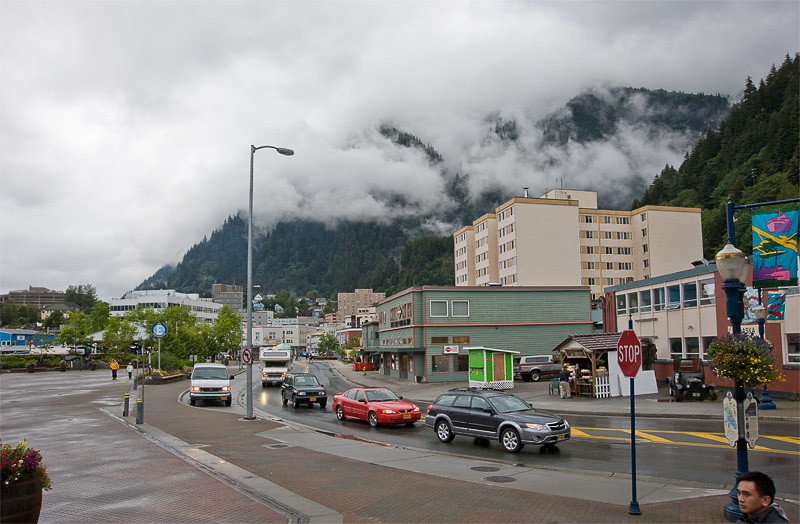 Juneau from the dock area