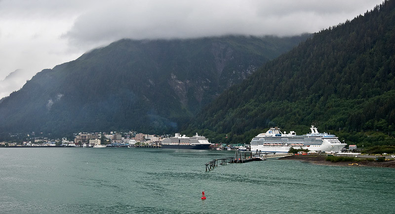 Approaching the Juneau Dock