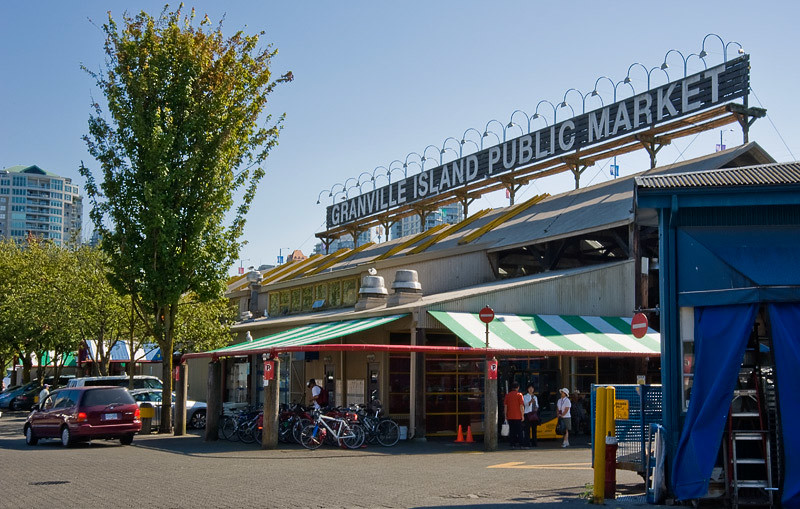 The Public Market on Granville Island