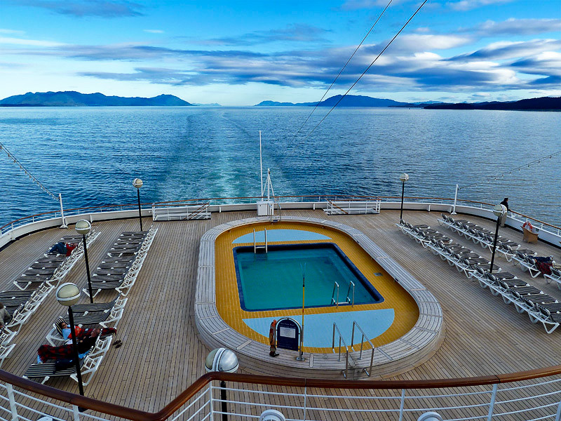 View from the Lido Deck. That's all for today!!