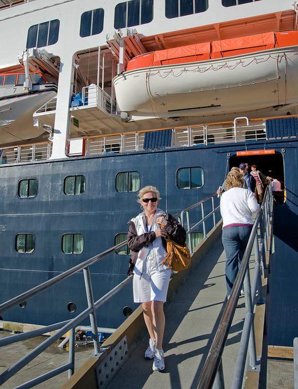 Getting off the Ship