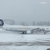Alaska Airlines at the Juneau Alaska Airport.