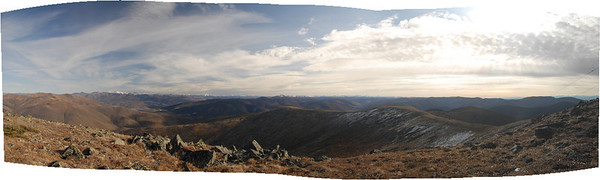 This is a pano from 40 mile mountaintop stretching from North to EastSouthEast.