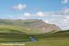 View of the Trans Alaska Oil Pipeline along Oksrukuyik Creek and Slope Mountain in the Brooks Range, Arctic Alaska.<br /> <br /> July 04, 2013