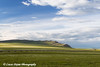 View of the Trans Alaska Oil Pipeline and Slope Mountain in the Brooks Range, Arctic Alaska.<br /> <br /> July 03, 2013