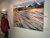 Sharron takes me to see the Voices of the Wilderness art show