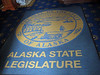 We do a mini-tour inside the Alaska state capitol building