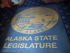 We do a mini-tour inside the Alaska state capitol building