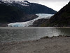 Juneau's famed Mendenhall Glacier--smaller than 30 years ago.