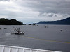 Back on the Kennicott from Kodiak to Whittier--approaching the small town of Chenega Bay--with many fishing boats
