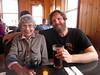 At our restaurant dinner in Kodiak