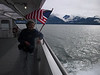 "The ferry from Juneau to Haines goes noth up ""Lynn Canal""--channel with Chilkat Mts to west and Faireather range to east."