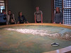 Denali Visitor Center's 3D model showing the entire national park.