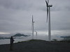 -Kodiak made news as an early Alaska community to  welcome wind energy