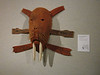 Mask exhibit at the Sealaska Museum in downtown Juneau